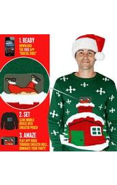 Джемпер Застрявший Санта