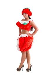 Красный костюм Клубнички