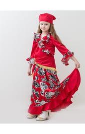 Красный костюм цыганочки