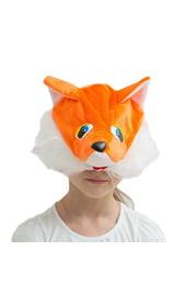 Шапка-маска Лисичка