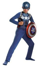 Детский костюм юного Капитана Америки