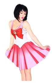 Розовое платье Сейлор мун