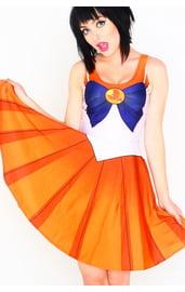 Оранжевое платье Сейлор Мун