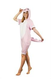 Пижама-кигуруми Розовый динозавр с шортиками
