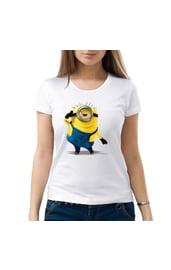 Женская футболка Танцующий миньон