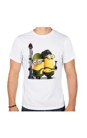 Мужская футболка Миньоны-защитники