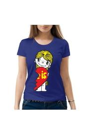Женская парная футболка Love is