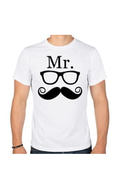 Мужская парная футболка Mr