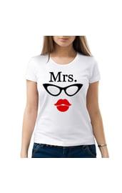 Женская парная футболка Mrs.