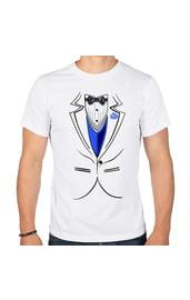 Мужская парная футболка Жених