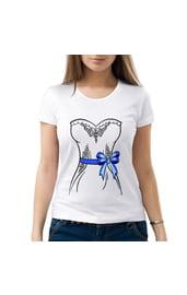 Женская парная футболка Невеста
