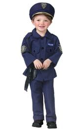 Детский костюм маленького полицейского