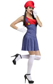 Женский костюм Марио