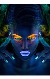 Неоновые линзы Neon Green