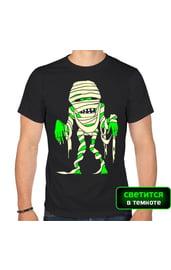 Мужская футболка Зомби-мумия