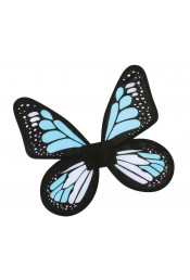 Детские голубые крылья Бабочка