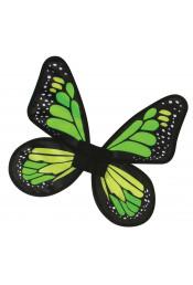 Зеленые детские крылья Бабочка