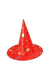 Красная шляпа со звездами