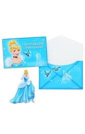 Подарочный конверт с открыткой Золушка