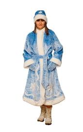Плюшевый костюм Снегурочки