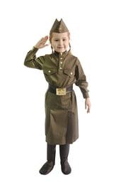 Подростковый военный комплект для девочек