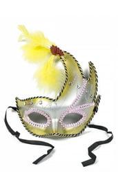 Желтая маска с асимметрией