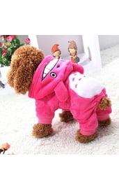 Костюм для собаки Тоторо розовый