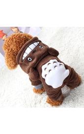 Костюм для собак Тоторо коричневый