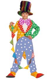 Детский костюм клоуна фокусника