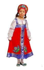 Костюм маленькой русской красавицы