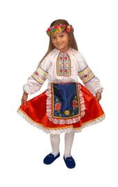 Костюм украинской девочки