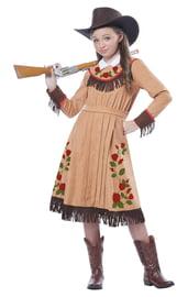 Детский костюм девочки-ковбоя