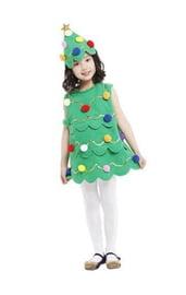 Детский костюм рождественской елочки