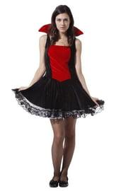Платье очаровательной вампирши