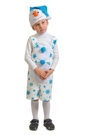 Детский костюм милого снеговичка