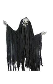 Подвесной скелет в лохмотьях