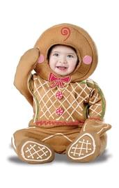 Костюм имбирной печеньки для малышей