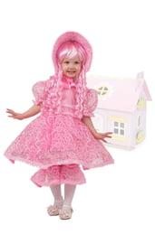 Розовый костюм куклы