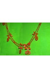 Оранжевая гирлянда Тыквы
