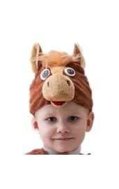 Шапочка-маска Конь