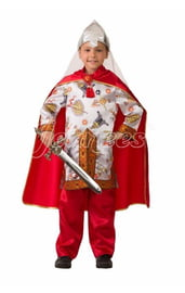 Атласный костюм Богатыря