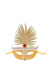 Золотистая сказочная маска