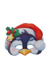 Картонная маска Пингвин