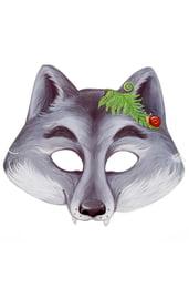 Картонная маска Серый волк