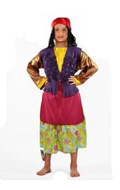 Детский цветочный костюм Бабы Яги
