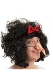 Нос Бабы Яги на резинке
