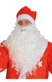 Борода Деда Мороза 37 см