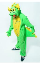 Детская пижама-кигуруми Зеленый Дракон