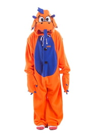 Детская пижама-кигуруми Оранжевый Дракон