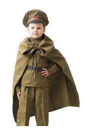 Военный плащ для детей